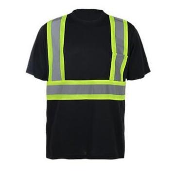 Светоотражающая спортивная футболка из полиэстера