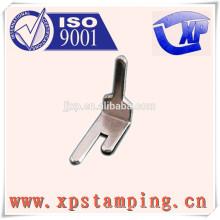 Peças de relé personalizadas, pino de contato de estampagem de metal