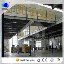 Jracking rack supplier steel structure quality floating mezzanine platform floor