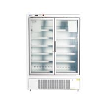 Морозильная витрина со стеклянной дверцей для супермаркета