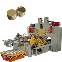 Hochgeschwindigkeitsdiebstahlsichere Aluminiumkappenherstellungsmaschine für die Weinverpackung