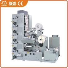 Automatic Adhesive Paper Label Flexo Printing Machine (AC-320-6B)