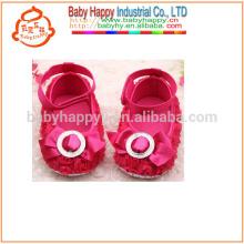 Niños Fancy Party Girls Red zapatos de vestir de bebé MOQ300