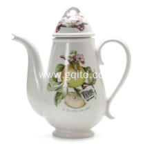 nobel ceramic European style teapot coffee pot