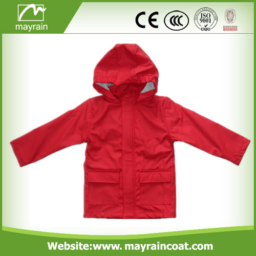 Unisex PU Raincoat for Kids