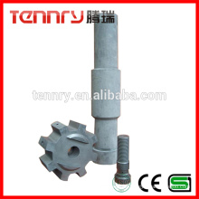 Anti-Oxidant Aluminum Degassing Carbon Graphite Rotor and Shaft Supplier