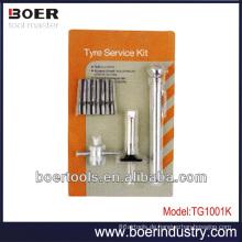 Tyre Testing Tools Kit Bleistiftreifenmessgerät & Reifenprofiltiefenmessgerät