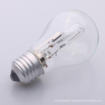 energy halogen saving bulb a55 a19 halogen lamp 29W 42W53W 72W