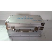 Caja de aluminio con mango de muelle