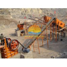 Maquinaria de trituración de piedra de suministro utilizada en la trituración de piedra