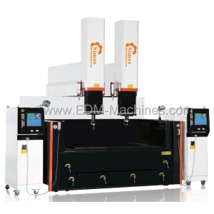 Doble husillo CNC Die EDM Sinker Machine DM3150K-II
