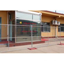 High Security Galvanized Chain Link Fencing / Temporary Fence