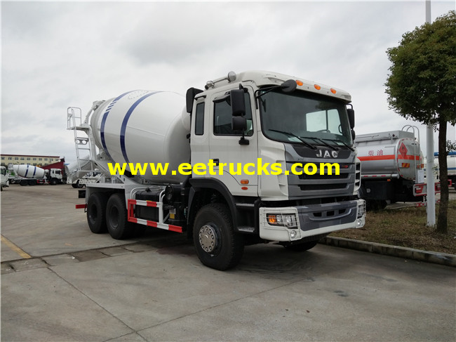 245HP 15000L Cement Mixer Trucks