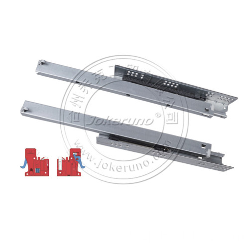 Teilauszug Soft Closing Undermount Slide