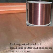 Red copper wire cloth