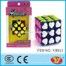 2015 Горячий продавать YJ кубик влюбленности кубика воспитательных игрушек английской упаковывая для промотирования