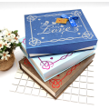 Magnetic closure chocolate gift box