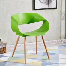 Venta al por mayor de plástico moderno comedor silla restaurante muebles