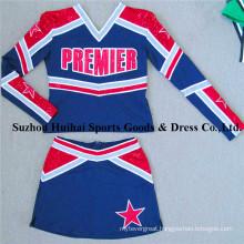 2017 Long Sleeve Spandex Cheerleading Uniforms