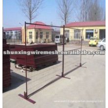 Canada standard PVC coated temporary fence