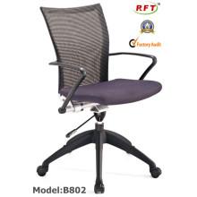 Mesh Office Nylon Manager cadeira de braço giratório (B802)