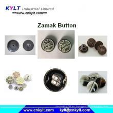 Zamak 5 aleación de zinc Die Casting botón de metal que hace la máquina