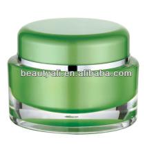 5г 10г 15г 30г 50г Овальная косметическая упаковка PMMA Jar