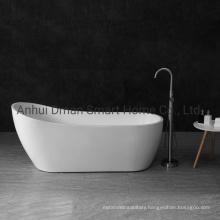Fashionable Acrylic Durable Whirlpool Bathtub Freestanding White Bath Tub