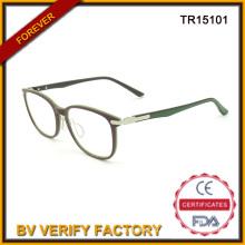 Последние дамы Tr90 оптических оправ итальянского бренда очки
