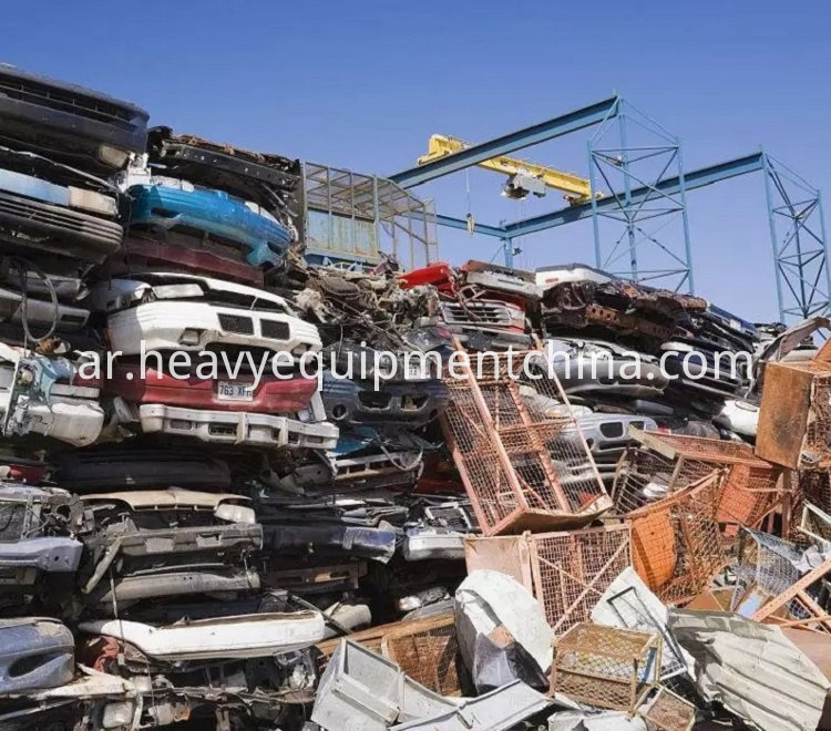 Large Capacity Mobile Scrap Metal Crusher Machine