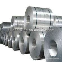 Aluminium coil for capacitor