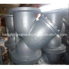 Flange End Y-Strainer Carbon Steel