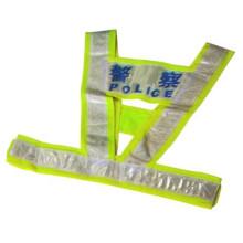 Полиэстера высокой видимости Светоотражающий безопасности жилет / жилет безопасности / предупреждение жилет