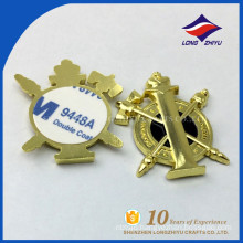 High end alloy 3D name plate with your own design