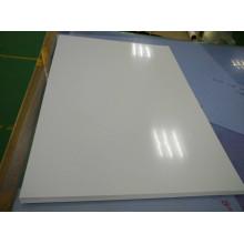 Folha lustrosa branca rígida do PVC para a impressão da tela