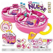 Boutique Playhouse brinquedo de plástico para Lovely Nurse Table