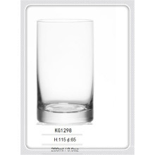 fancy hand blown mini round lead free crystal whisky glass-KG1298