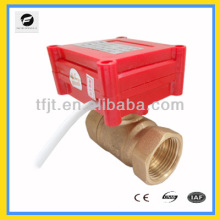 2,3,5wires BSP Electric Control 2 way electric valve for plumbing service,hot water heating and solar glycol loop