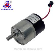 Motor sem escova da engrenagem 6V mini com o codificador para a auto válvula da água