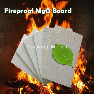 Desain Panel Fire-rated No-formaldehyde 9mm MgO Board