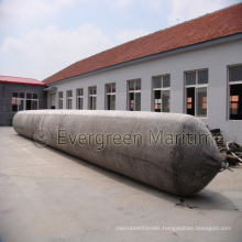 Rubber Ship Launching Marine Airbag, Air Balloon, Inflatable Rollers Bag for Vessel Haul out and Pull to Shore, Salvage & Heavy Lifting