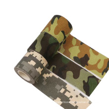 Manufactory Supply General Purpose Camouflage Cloth Duct Tape With Hot Melt Adhesive For Fixation