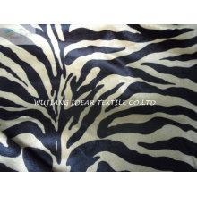 100 % Polyester kurze Haufen Plüsch bedruckte Stoff