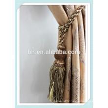 Curtain Tieback Rope , Tassel ,Bronze Curtain Tassel Tiebacks