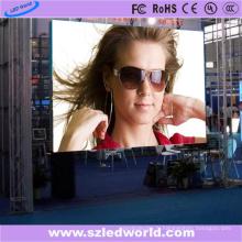Mur visuel polychrome d'intérieur de location de P4.81 LED pour la publicité (CE, RoHS, FCC, ccc)