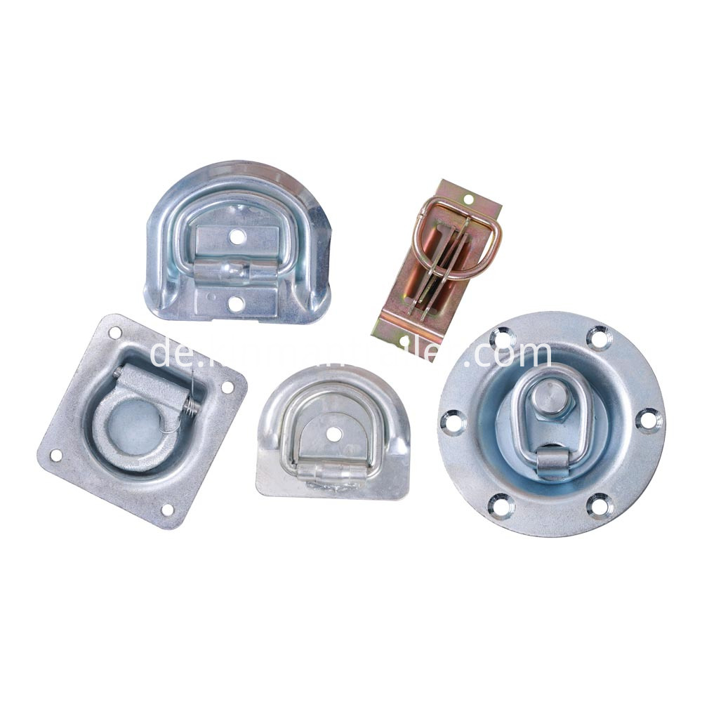 recessed lashing ring on plate