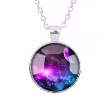 Großhandel High-End-Mode Persönlichkeit Galaxie Halskette Schmuck
