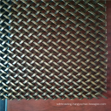 copper metal  interior screen mesh for indoor decoration