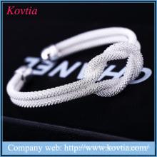 Vente chaude Nouveautés Bracelet Femme Design Bracelets Argent Sterling