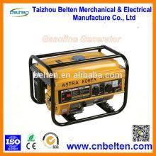 CE ISO 4-Stroke 2.0KVA 2.5KVA Benzin Electric Generator Set Spezifikationen Für Verkauf